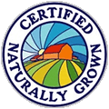 Our Certified Naturally Grown Produce in the Fox Valley Wisconsin area