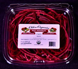 Red Beet Noodles